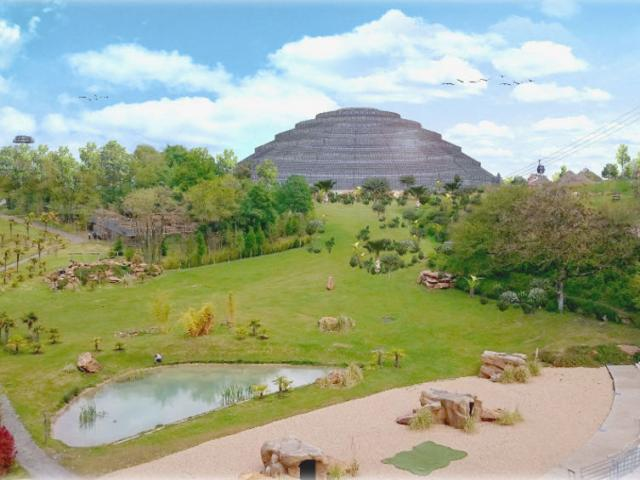 Dome Tropical Zoo Beauval