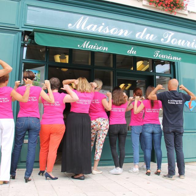 Equipe Ofice Tourisme Saint Aignan Selles