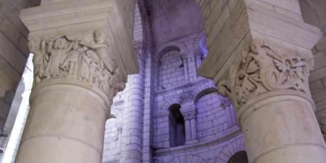 Colonnes Triforium