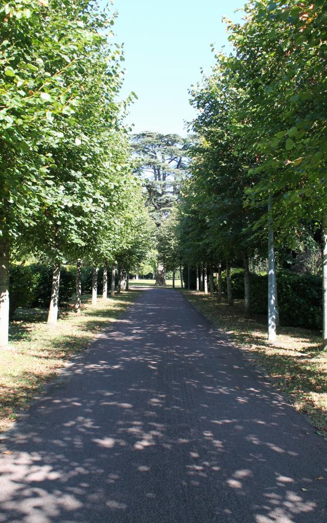 Allée du Parc du Vaulx Saint-Georges à Thésée