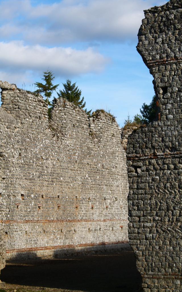 Vestige du site gallo-romain des Maselles à Thésée