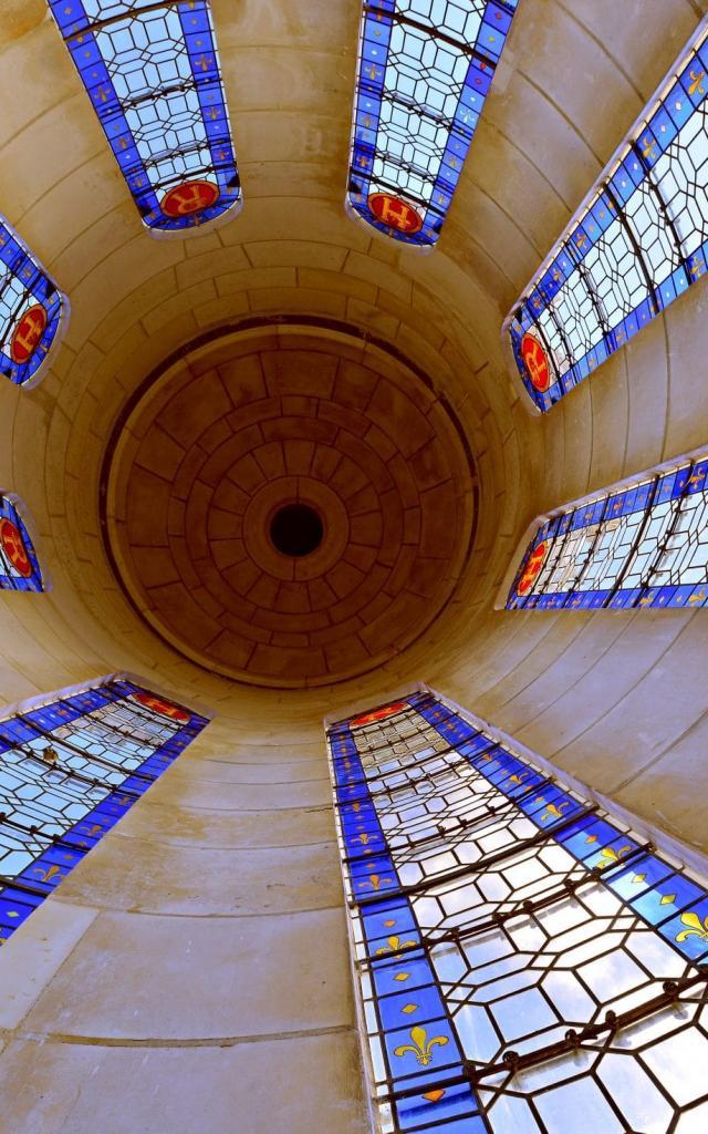 Chambord Tour Lanterne Restaurée C Léonard De Serres 16