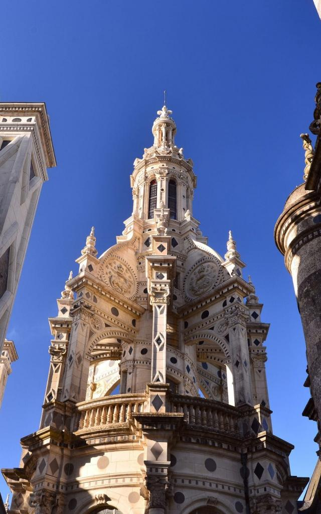 Chambord Tour Lanterne Restaurée C Léonard De Serres 4