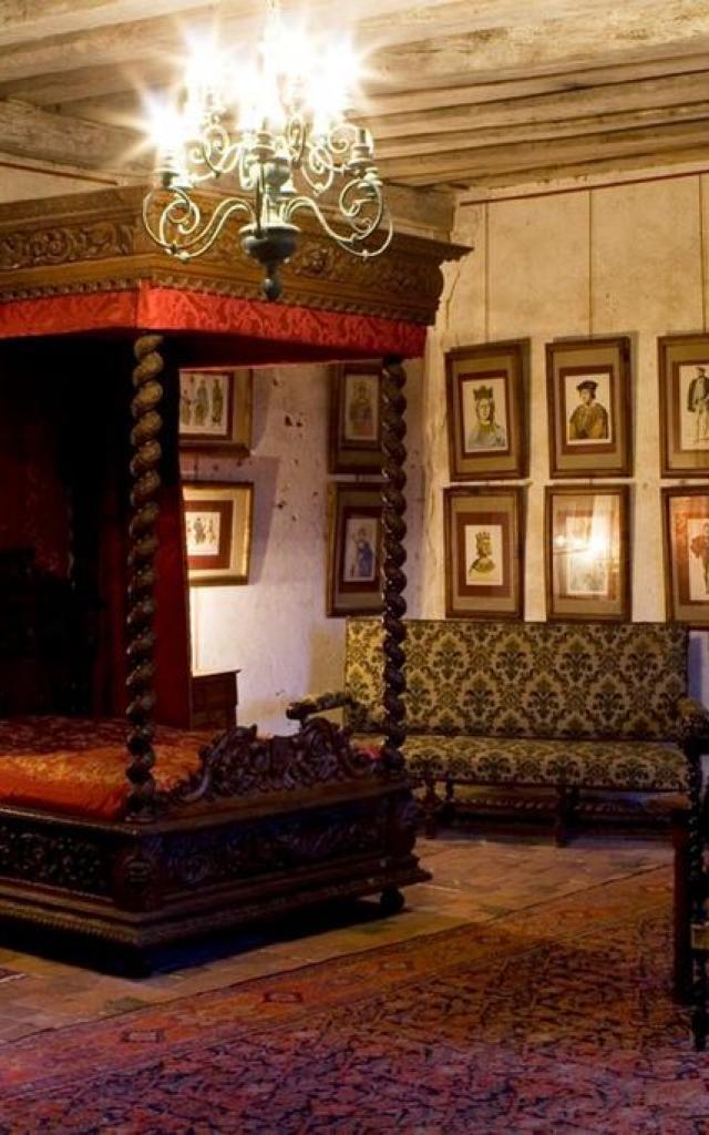 Chambre Chateau Chemery Sologne Sud Loire