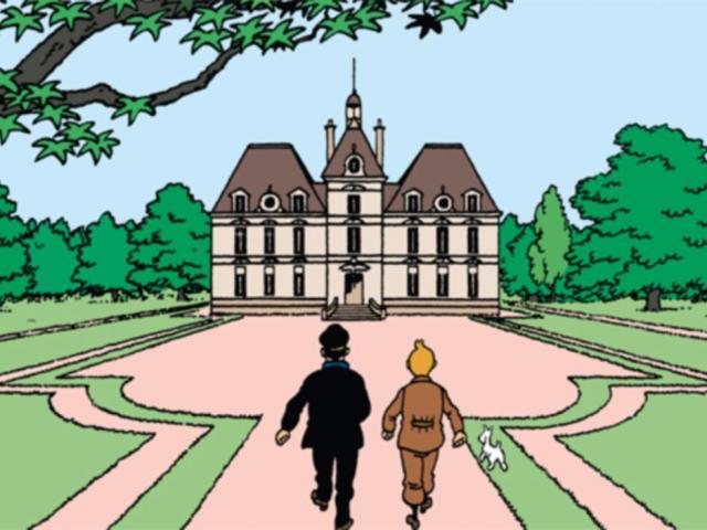 séjour clé en main famille Cheverny Exposition Tintin