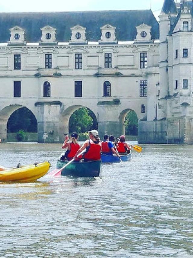 Experience Seminaire Aventure Canoe Sur Le Cher Groupe