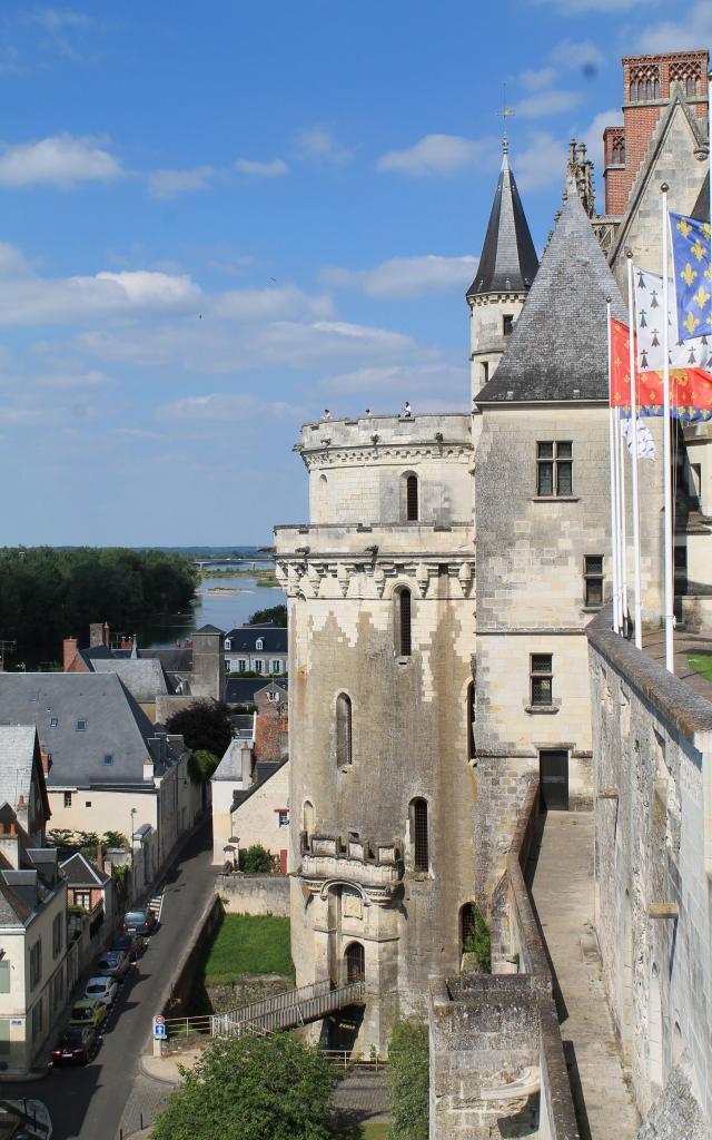 Facade Chateau Royal Amboise Loir Florence Foriel