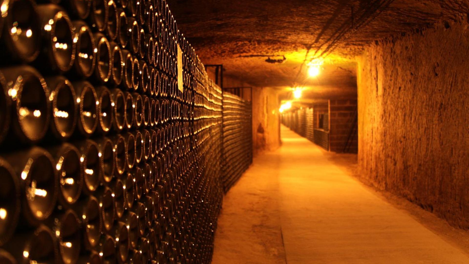 Les caves Monmousseau à Montrichard